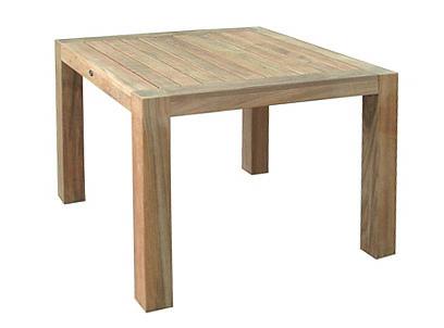 Eettafel vierkant 100x100